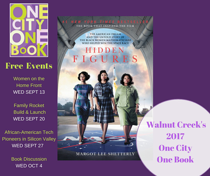 WCLF - One City One Book - Hidden Figures