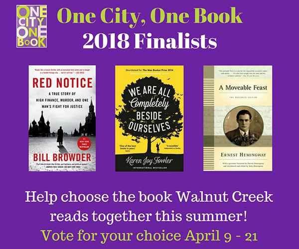 WCLF - Vote for the Book!