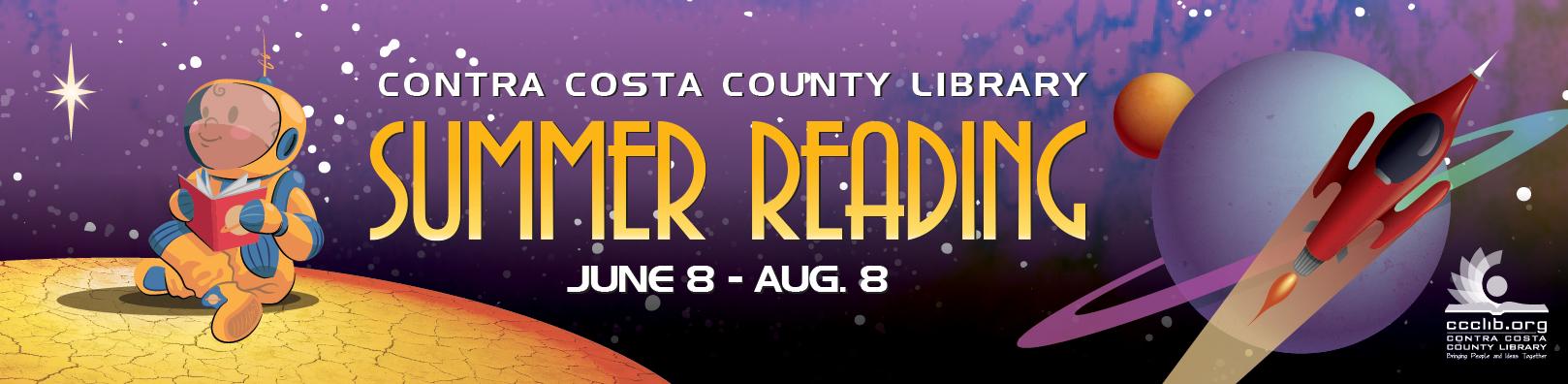 Summer Reading Program Begins - Walnut Creek Library Foundation