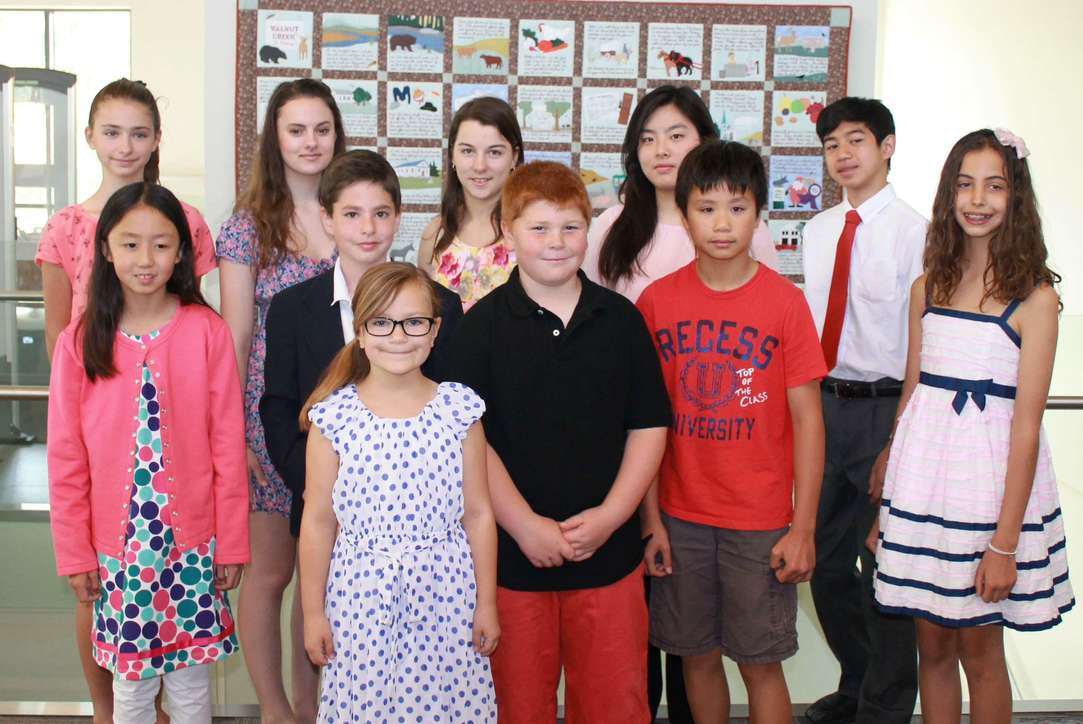 2014 Student Poetry Winners