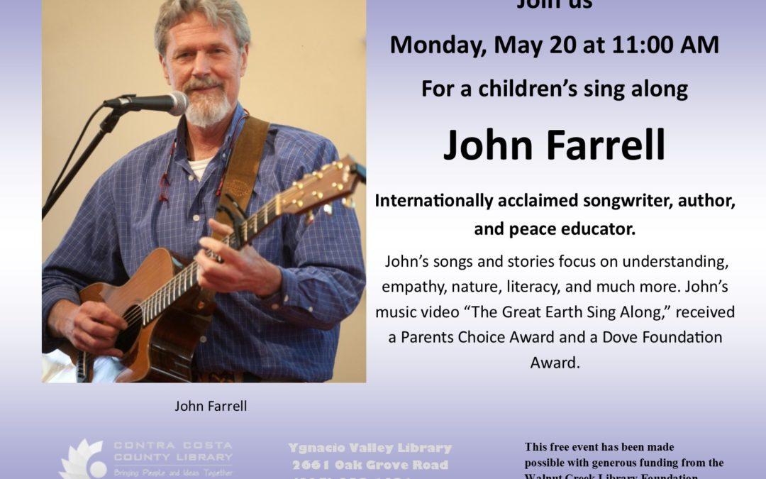 Children's Sing-A-Long with John Farrell